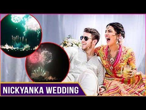 Firecrackers Celebrations After Priyanka Nick Wedding At Umaid Bhawan Palace, Jodhpur