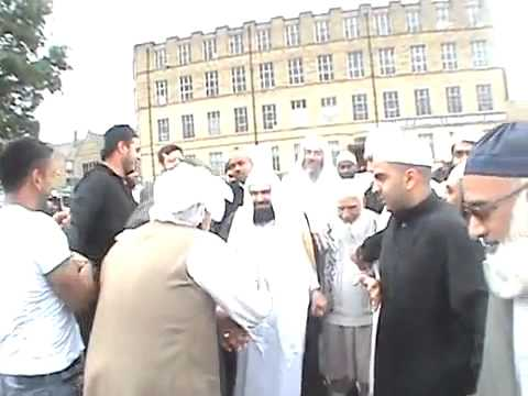SHEIKH SUDAIS  VISITING TO AL-HUDA MOSQUE UK