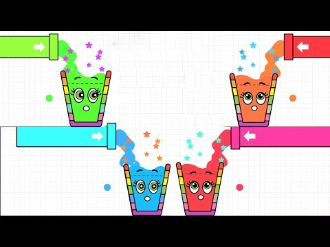 Happy Glass 3 Stars ( Level 381 - 405 ) Daily Challenge Gameplay Walkthrough Android/IOS