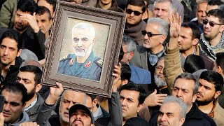 'Death to America' chant mourners in Tehran after Qassim Soleimani assassination ordered by Trump