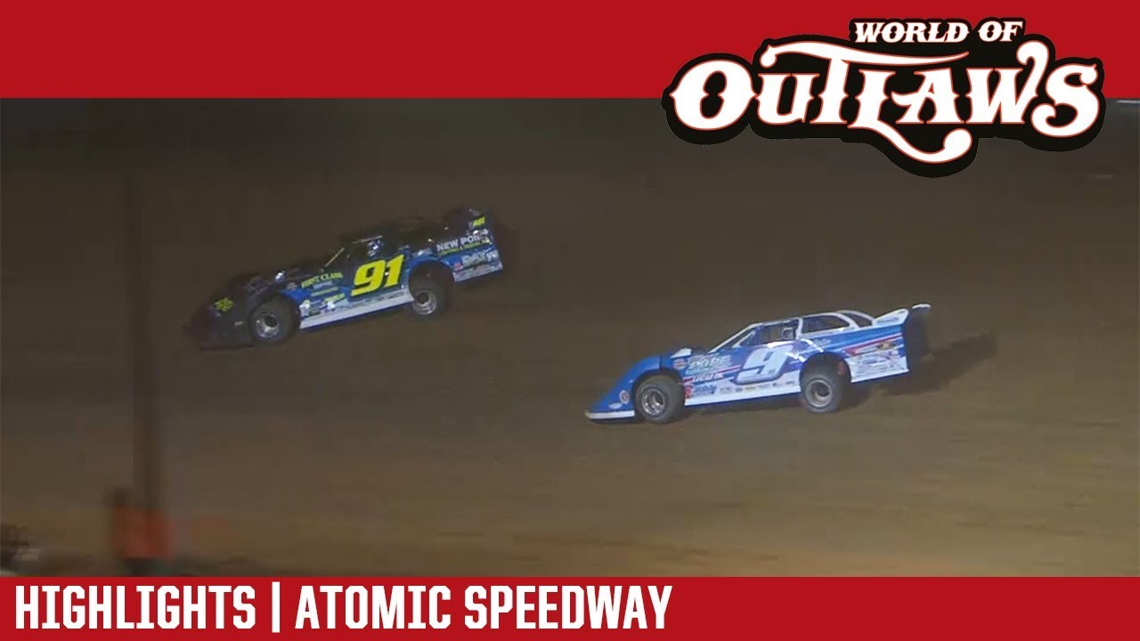 world-of-outlaws-craftsman-late-models-atomic-speedway-september-28-2018-highlights