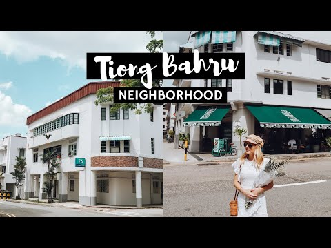 Exploring A Trendy Neighbourhood in Singapore | Life in Singapore Vlog (Tiong Bahru)