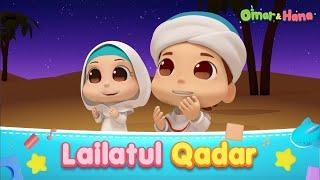 Download Lagu Omar & Hana | Lailatul Qadar | Lagu Kanak-Kanak Islam mp3