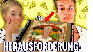 Ich FORDERE Luca Concrafter HERAUS!  | Concrafter Pizza