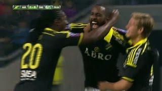 Gotiom trycker in 1-0 för AIK efter ett långt Bangura-inkast - TV4 Sport thumbnail