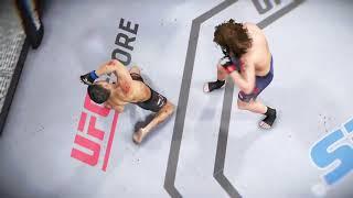 UFC 3 knocking out Conor McGregor.