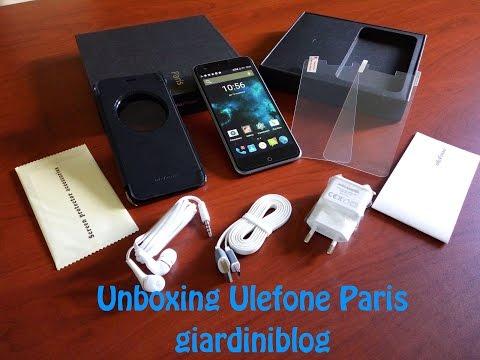 Unboxing Ulefone Paris