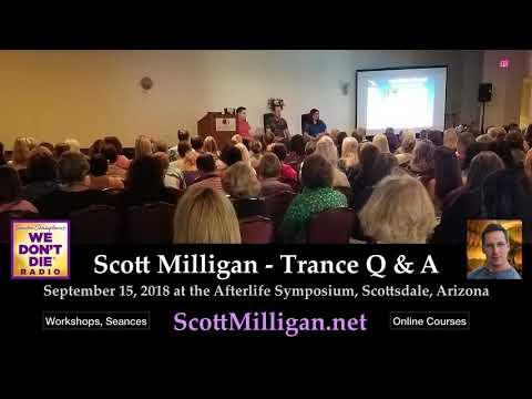 Scott Milligan Trance Q & A Demonstration - AREI Afterlife Symposium 2018 thumbnail