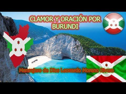 CLAMOR Y ORACIÓN  POR BURUNDI