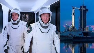 NASA and SpaceX delay the first manned mission to the International Space Station