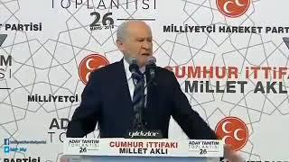 Devlet Bahçeli: İŞTE ADAM GİBİ ADAMLIK!