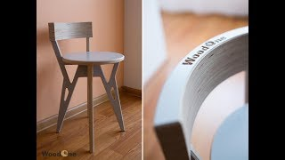 Современная табуретка из фанеры /Modern stool made of plywood