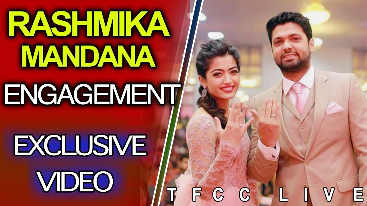 Download Geetha Govindam Heroine Rashmika Engagement Highlights | Geetha Govindam | TFCC Live