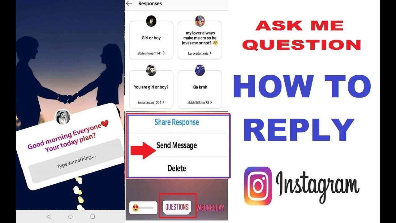 HOW TO REPLY ask questions FEATURE ON INSTAGRAM   HOW TO RESPOND ask  questions FEATURE ON INSTAGRAM