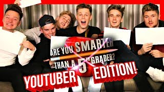 ARE YOU SMARTER THAN A 5TH GRADER? ft. Joe Sugg, Conor Maynard, Jack, Mikey & Josh