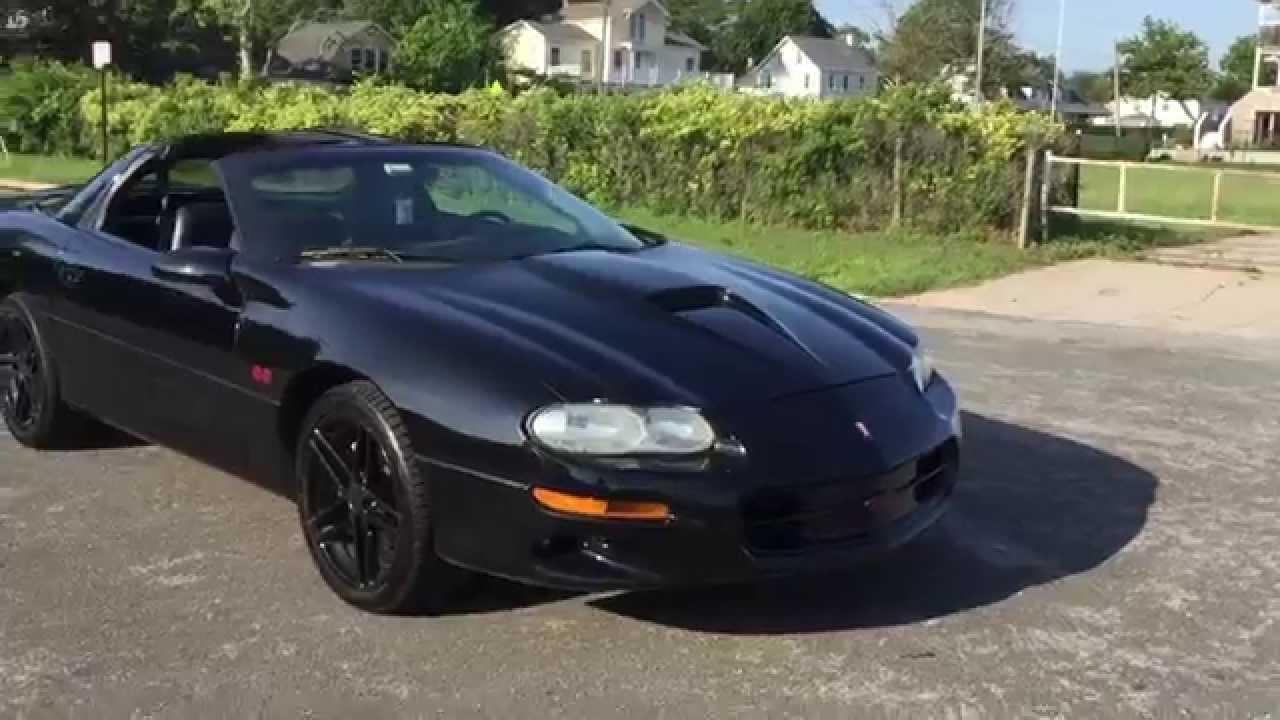 2002 Camaro SS 35th Anniversary Edition TTops Start Up Exhaust