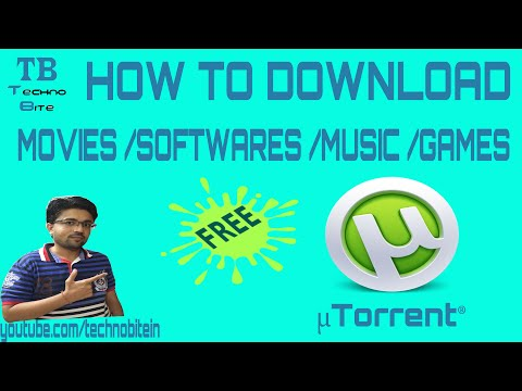 How To Download Movies Using utorrent 2016...