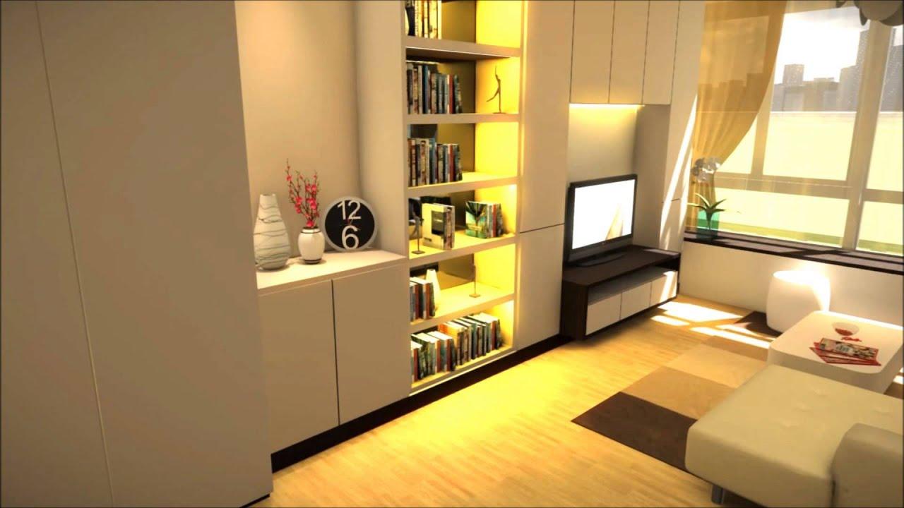 Studio Type Condo Interior Design