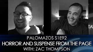 Palomazos S1E92 - Horror and Suspense from the Page