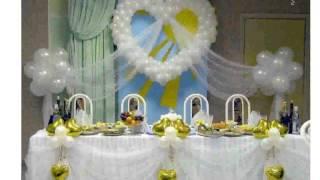 Свадебное Украшение Зала Фото