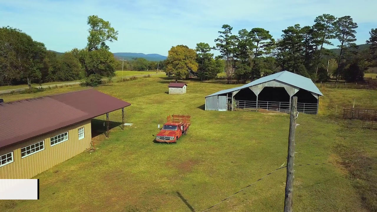 Home, Shop, Barns & 128 Acres for Sale in Danville, AR ...