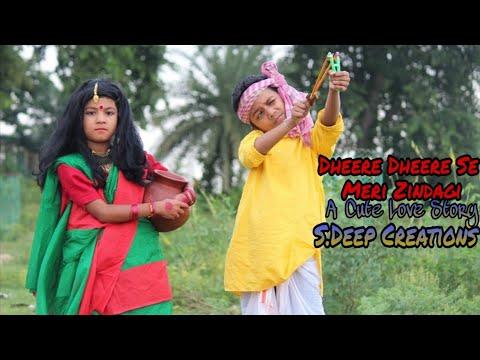 dheere-dheere-se-meri-zindagi-  cute-lovestory- bollywood-song new-hindi-song sdeep-creations....