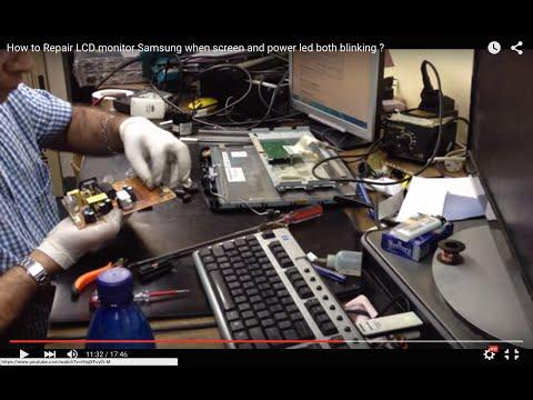Repair LCD Monitor Samsung 743nx