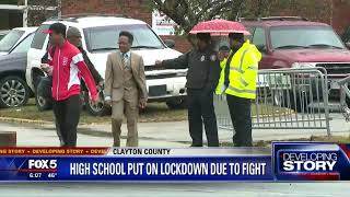 High School put on lockdown due to fight