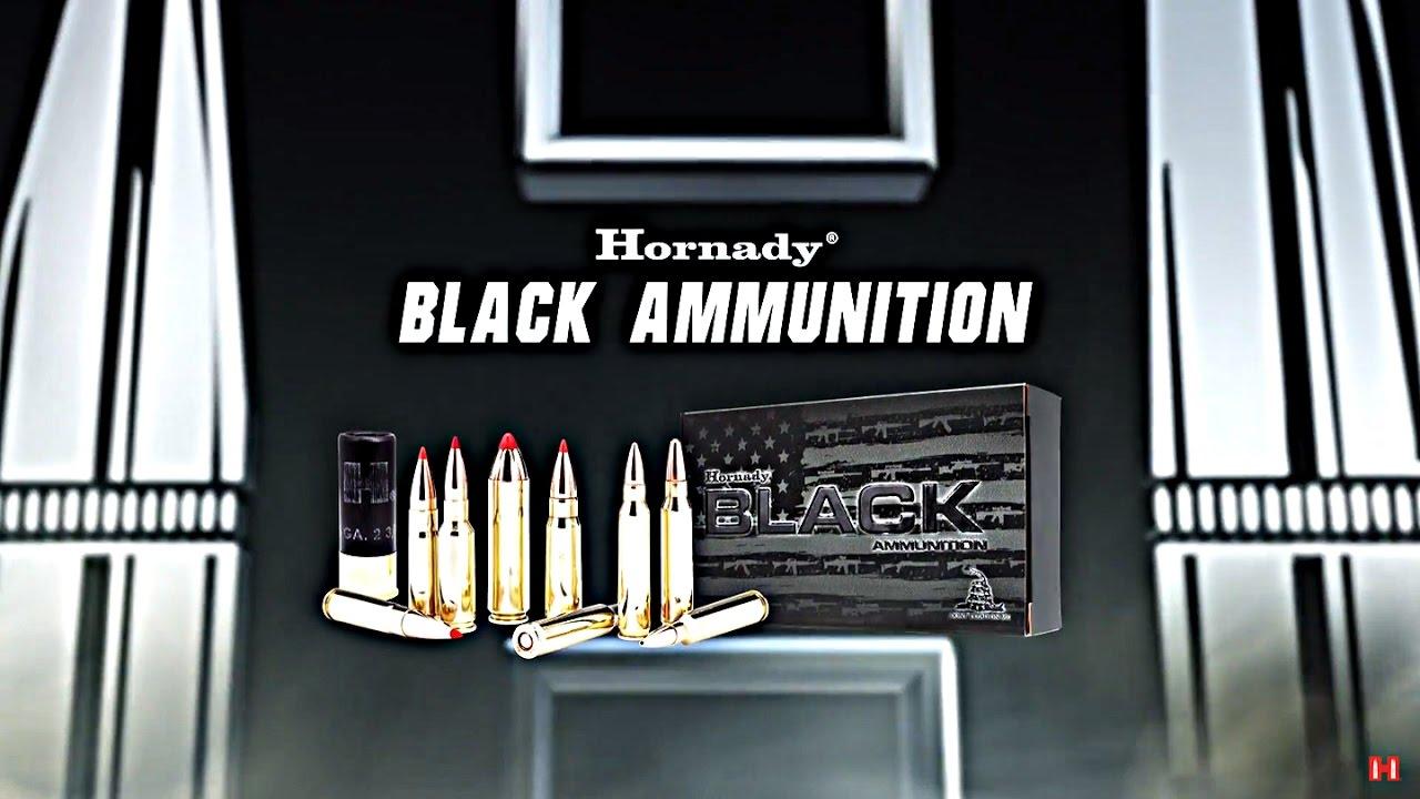 Hornady® BLACK™ Ammunition