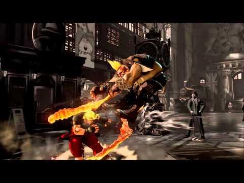 Street Fighter V ComicCon 2015 trailer