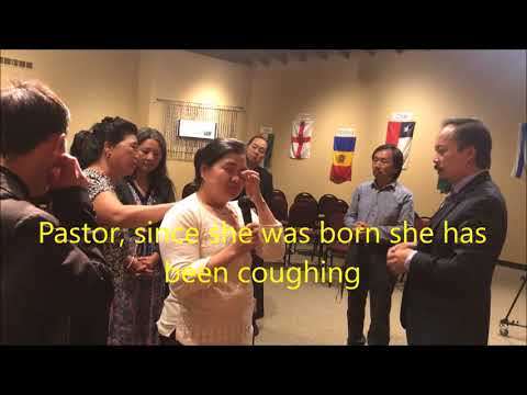 Coughing, breathing and throat problems since childhood healed in the name of Jesus Christ, 8/27/17