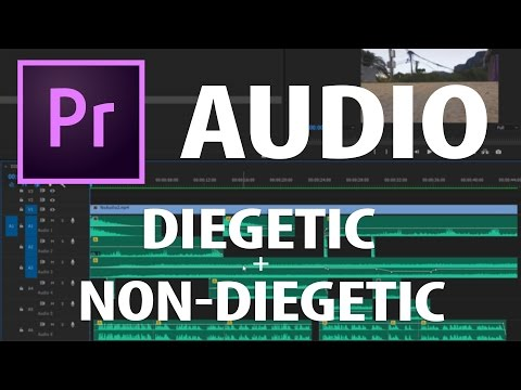 Premiere Pro: How To Improve Your Video's Audio (Diegetic + Non-Diegetic)