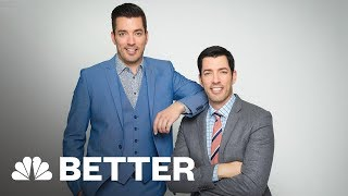 Property Brothers: We Figured Out How To Work With Family Members | Better | NBC News