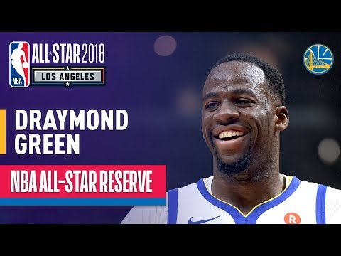 Draymond Green All-Star Reserve | Best Highlights 2017-2018