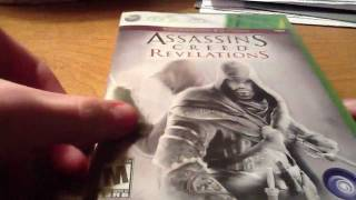 Assassins Creed Revelations signature edition unboxing (HD)
