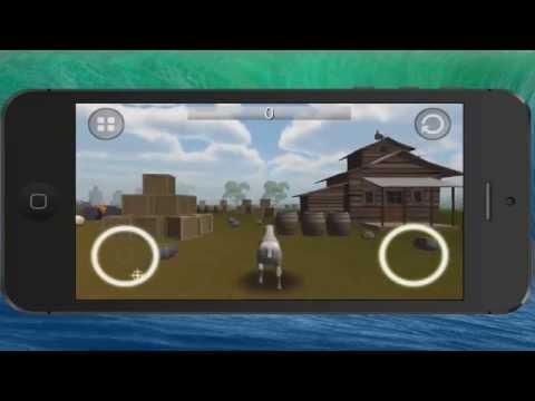 Goat Rampage for iPhone - A Goat Simulator Clone?