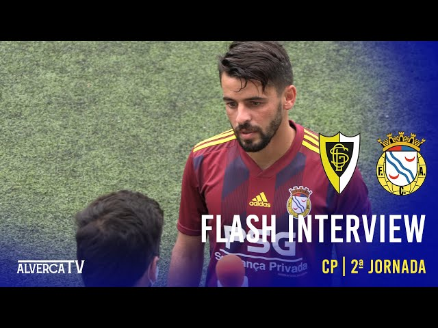 GS Loures 0-2 FC Alverca - Flash Interview