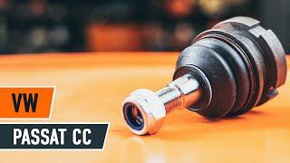 Ako a kedy meniť Čap ramena VW PASSAT CC (357): video sprievodca