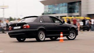 Автослалом в Кривом Роге (BMW E39)