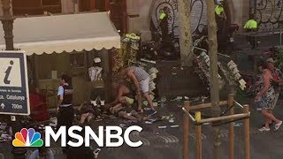 Massive Van Crash Reported In Barcelona, Spain | MSNBC