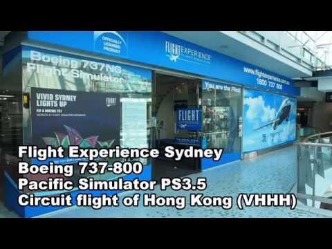 Flight Experience Sydney - Circuit flight around Hong Kong