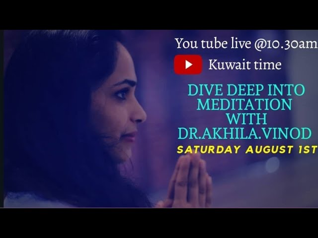 Dive Deep Into Meditation