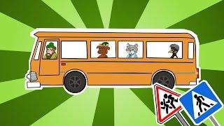 Уроки от Сороки 2. Правила дорожного движения для детей. Как правильно переходить дорогу