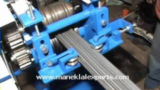 Manek - Rolling Shutter Strip Making Machine Model: Rss-4.5 With 6 Pairs Of Rolls