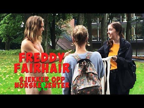 Freddy Fairhair sjekker opp norske jenter - På Viafree!
