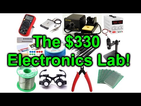 EEVblog #954 - How To Setup An Electronics Lab For $300