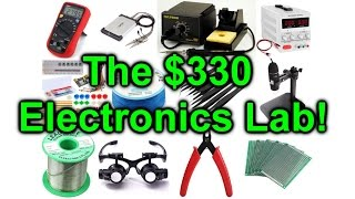 EEVblog 954 - How To Setup An Electronics Lab For 300