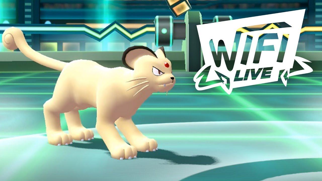 Pokemon Let's Go Pikachu & Eevee Wi-Fi Battle: Persian Chips Away! (1080p)