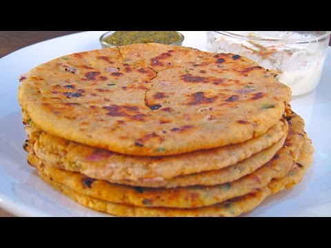Missi Roti Recipe From North Indian Cuisine By Sonia Goyal @ ekunji.com
