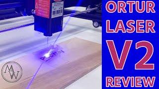 Ortur Laser Master V2 Review.  Best $200 Bucks Spent Ever.